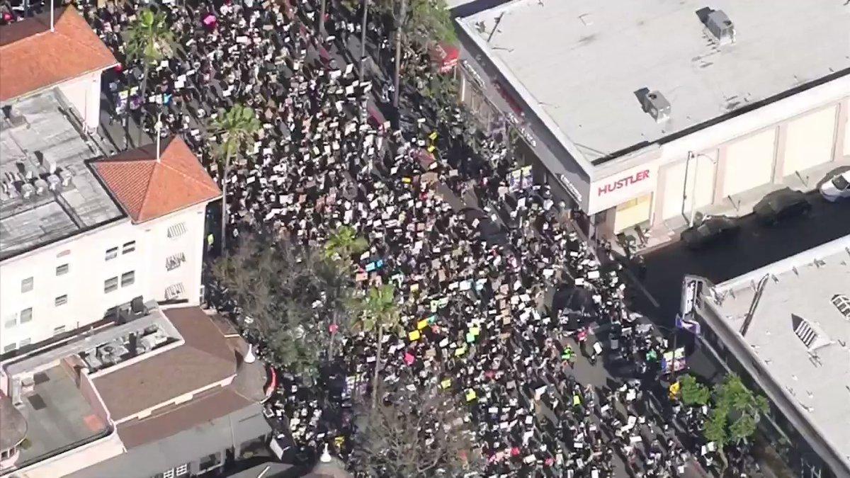 blm 20k march LA